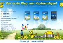 www.Keyboardlernen.de / A unique State-Of-The-Art and probably most-sold keyboard teaching and learning system.