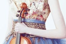 Violins and other instruments / by Joni Simon