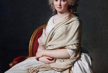 women's portraits 1790s