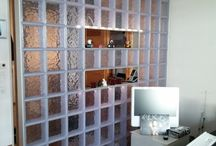 X-BLOCK acrylic glass stones / perfect to  make a wall and seperated a big room .....
