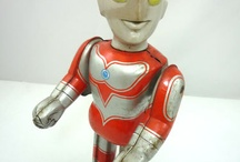 Tin robots from Japan / Tin Robots from 60's and 70's, made in JAPAN, my passion....