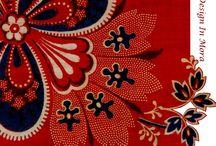 Design in Mora / mitt företag där jag tar fram nya produkter med inspiration från gamla sjalar