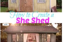 She sheds, Whaaat! / Spaces for women -Glam Sheds