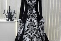 medieval vestidos