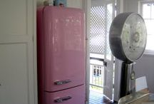 Vintage fridge   / by Judy Ricard
