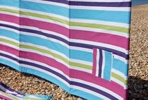 Beach Windbreaks / Windy? no problem check out our great selection of beach windbreaks and just enjoy the sun