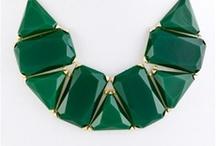 Bulky necklaces / Pretty pretty !