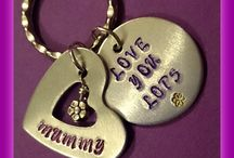 Stamped jewellery