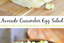 cucumber egg avacado