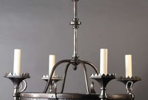 Black Crystal Gothic Chandeliers