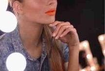 Make up Orange lip's