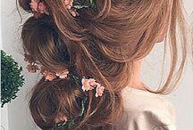 Bride s hair
