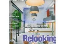 *Résidences décoration / L'un de ces magazines vous intéresse ? Pour en savoir plus, cliquez dessus. Deux fois.