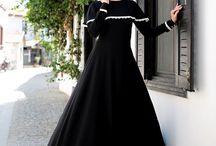 pretty hijab dress
