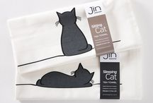 Ideas and Gifts for Cat Lovers / Unique collection of high quality home and giftware, ideal for cat lovers. Designs by Jin Designs.