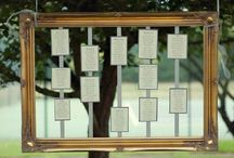 Wedding seating plan ideas / It's got wedding seating plan ideas in it.