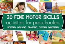 pre school activities / by connie mae milam