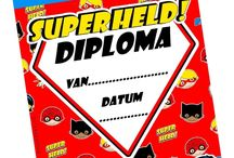 Superhelden feest superhero party