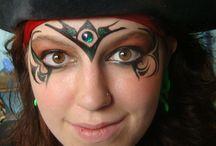 Pirate Kids Makeup Costume