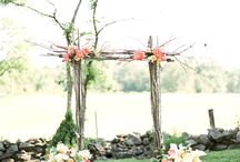 Jack and Jen! / Small rustic wedding