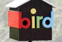 Birds & bird houses / by Elaine Humphrey
