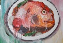 Foods in art