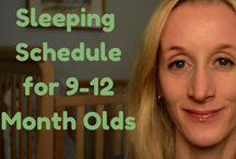 Baby sleeping schedules