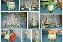 Turtle Themed Baby Shower Ideas / Turtle themed baby boy shower ideas