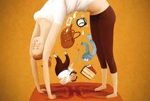 yoga moodboard