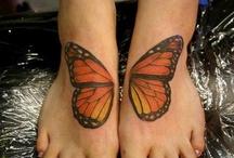 Gorgeous Monarch Tattoos!