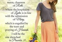 Christian women / My desire to be a Godly woman to stand perfect and complete in all of God's will. To be an example to others. My heart is filled with love and praise to my Heavenly Father. To live under His divine order....Biblical headship  God the Jesus then my husband then me. Here I experience all that my Father wills for me.
