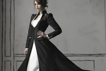 black wedding dresses...why not?!