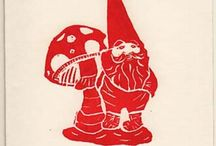 Gnomes and Elves in the Garden!