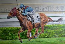 Race Horses In Art 12- Notable Japane and Hong Kong Based Horses
