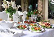 Dining Alfresco / Entertaining outdoors