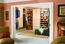 Bedroom Closet Organization / Taking your closet design up a notch?  Check out these images of our very own closets installed in the lucky homes of Las Vegas.