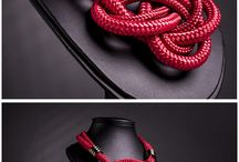 colares de cordas