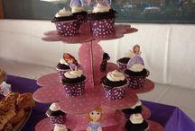 Doğumgünlerimiz / Elif Serra 4 yaş temamız Prenses Sofia  Elif Serra 5 yaş temamız Frozen/Karlar ülkesi