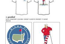 Sigma Pi / Sigma Pi custom shirt designs #sigmasigmasigma #sigmapi #sp  For more information on screen printing or to get a proof for your next shirt order, visit www.jcgapparel.com