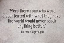 Florence Nightingale / by Sue Whitacre Carter