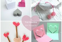 DIY Valentine / DIY projects for St. Valentine day