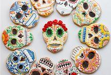 Dia de los Muertos / Sugar Skull, Catrina ....