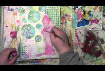 ARTist Luv~ Carolyn Dube / by Kathie Gadd