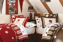 Shared Bedroom Ideas for Boys / A collection of shared bedroom ideas for boys.