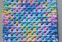 Crochet: dish clothes