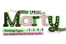 typografie / Schöne Fonts, interessante Typefoundries