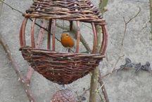krmítka a ptačí budky