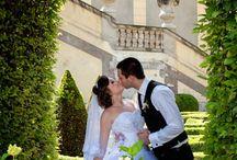 Свадьба в Вртбовском саду / Свадьба в самом романтичном саду Праги!