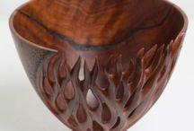 bowls carved n pierced