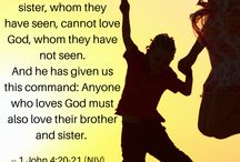 Love / Bible verses on love. Find more at http://biblegateway.com